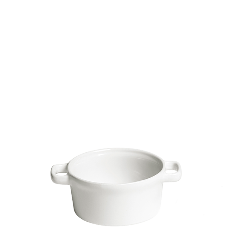 Individual Cooking Pot White Ø 10 cm 25 cl