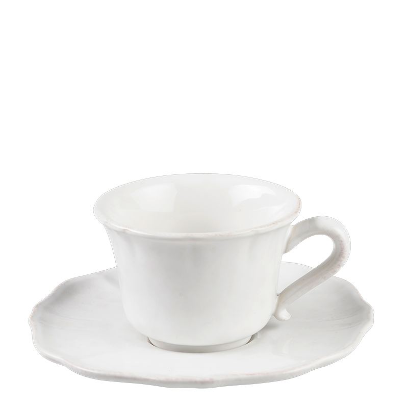 Romance teacup and saucer 20cl