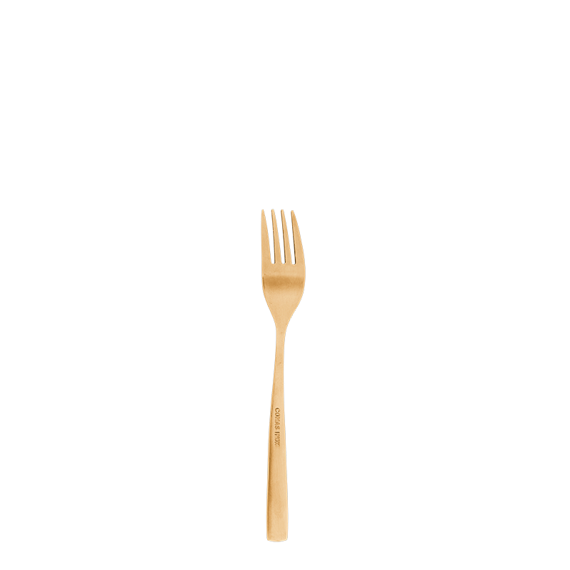 Neo gold cocktail fork