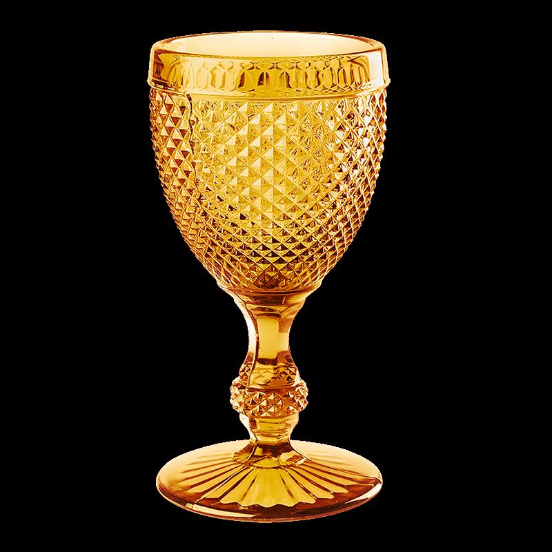 Amber Tourmaline glass  23 cl