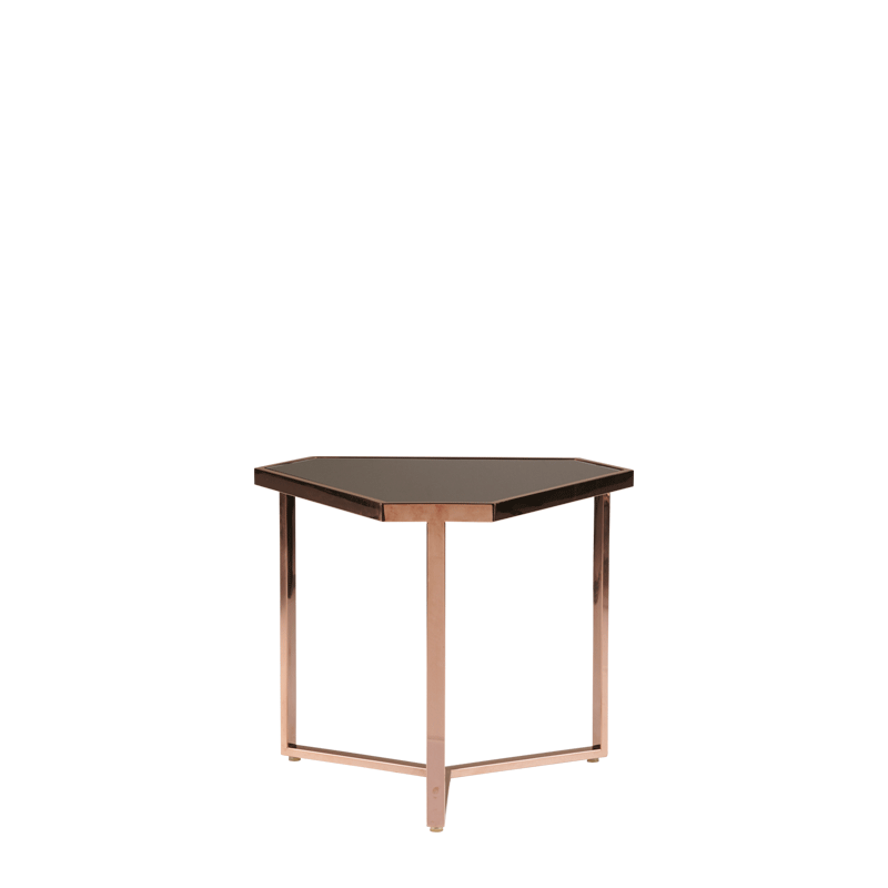 Cognac Occasional Triangle Table