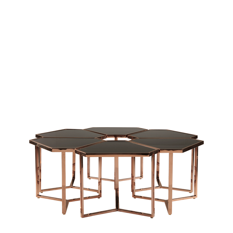 Cognac Triangle Mix D Drinks Table