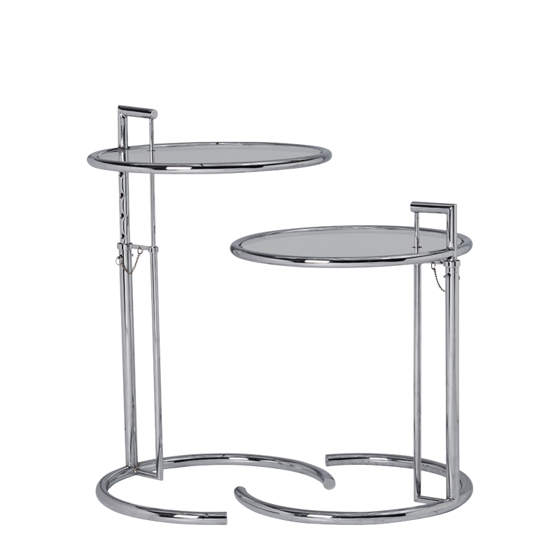 Gray Duo Table