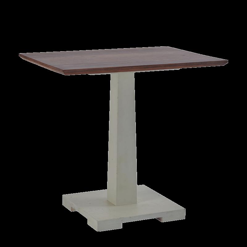 Square Bistro Café Table in Grey