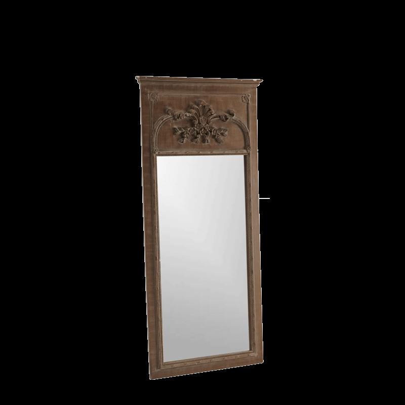 Belgravia Mirror in Taupe