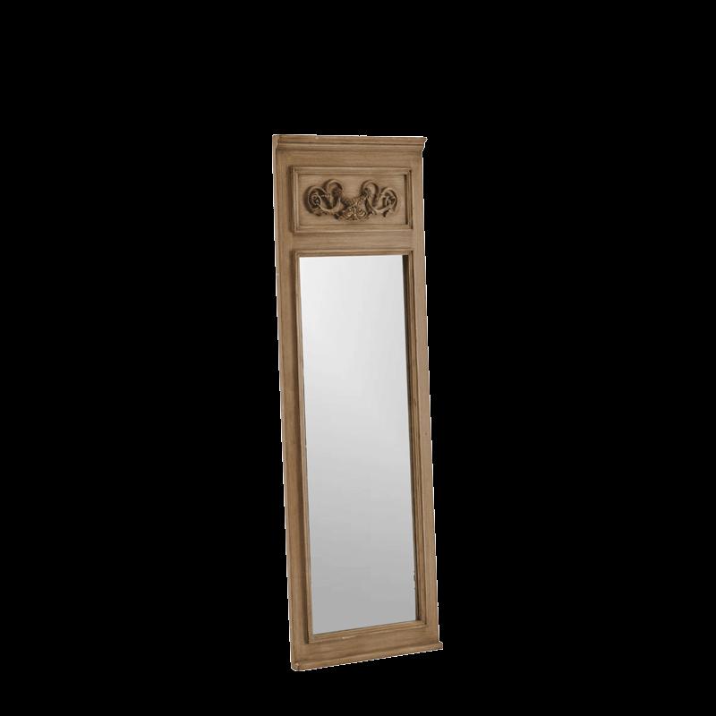 Belgravia Mirror Small in Taupe