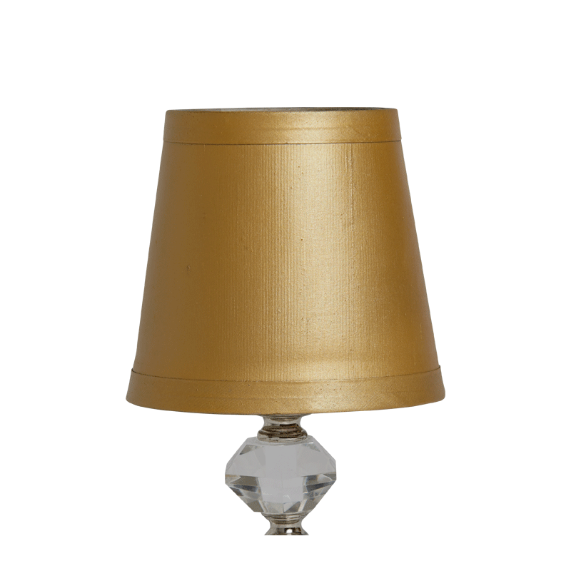 Retro Crystal Lamp Shade in Gold