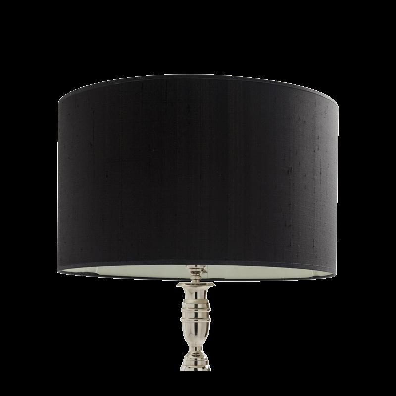 Rotanda Lamp Shade in Black large