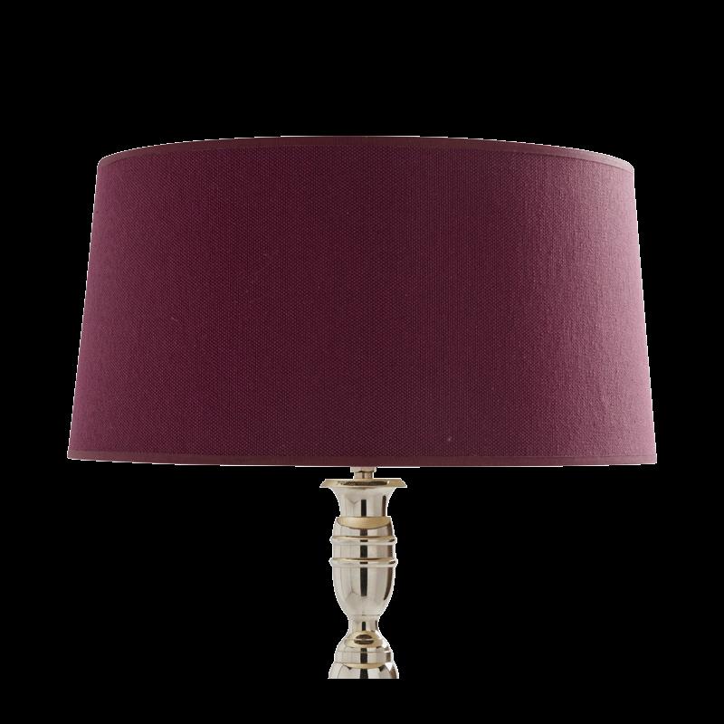 Rotanda Lamp Shade in Burgundy