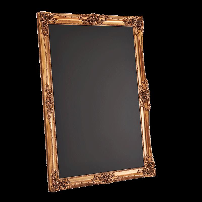 Versailles Gold Chalkboard