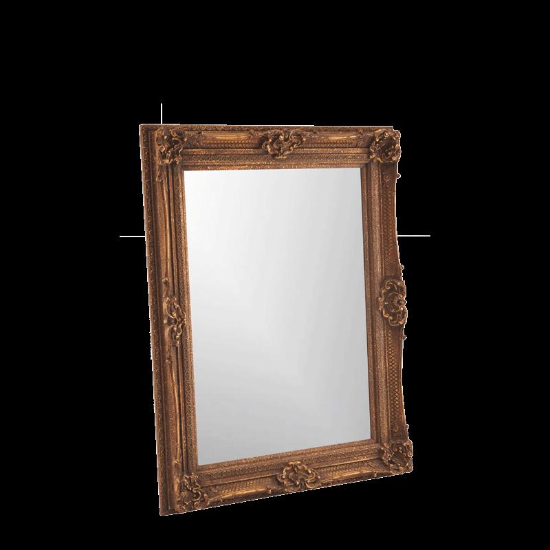 Versailles Mirror Petite in Antique Gold