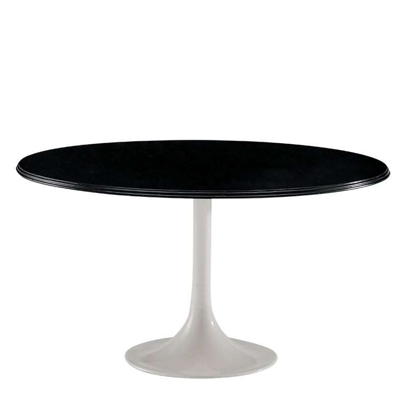 Tulip Coffee Table with Black Top