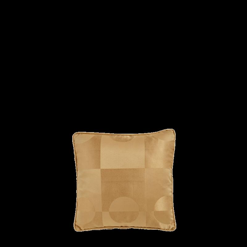 Cushion in Gold Silk