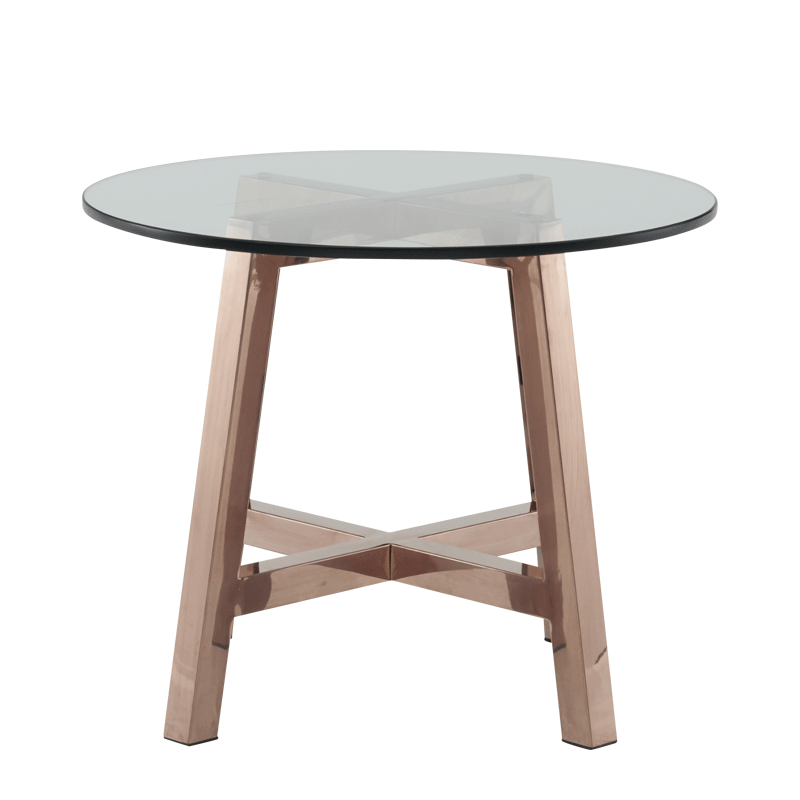 Washington Coffee Table with Crystal Glass Top