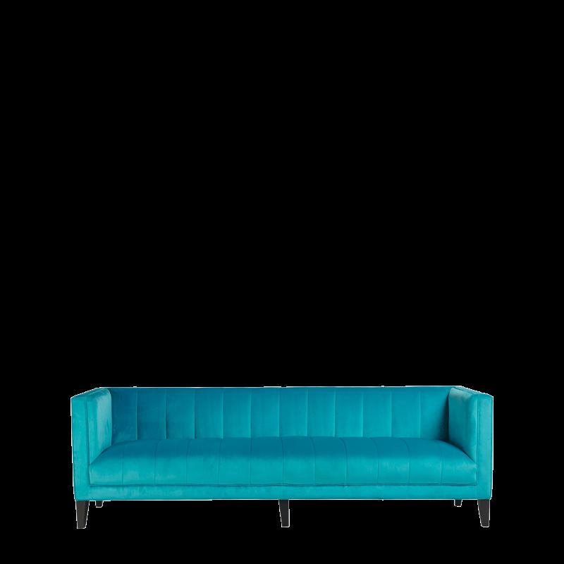 Hollywood Sofa in Agean Blue