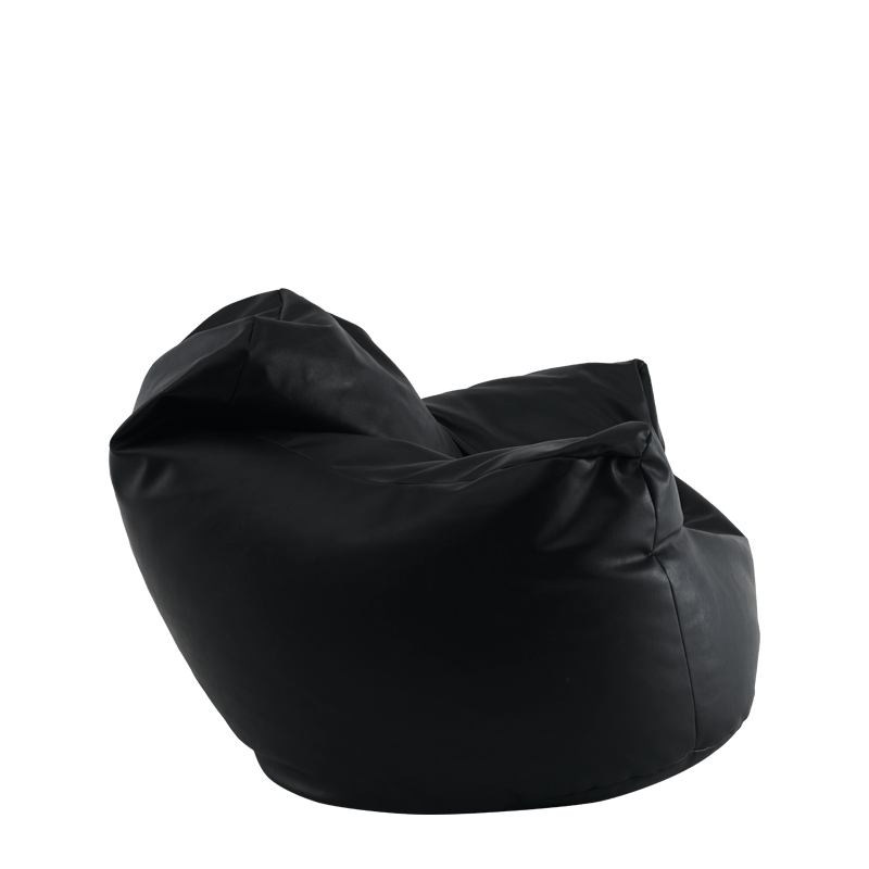 Bean Bag Armchair in Black