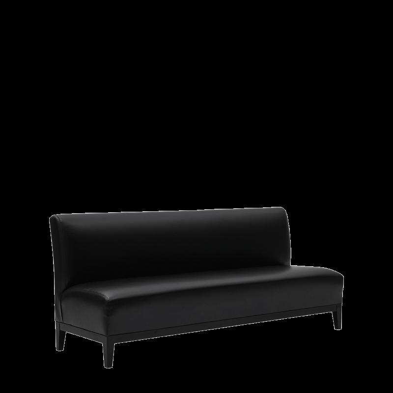 Classic Sofa in Black