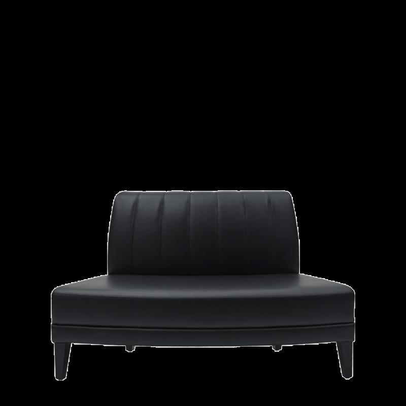 Infinito G Inverted Sofa in Black