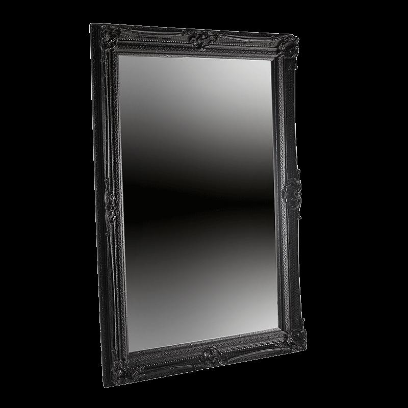 Versailles Mirror in Black