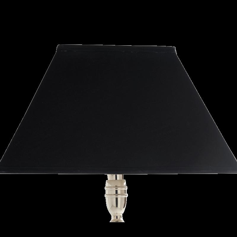 "Classic Lamp Shade in Black 16"""