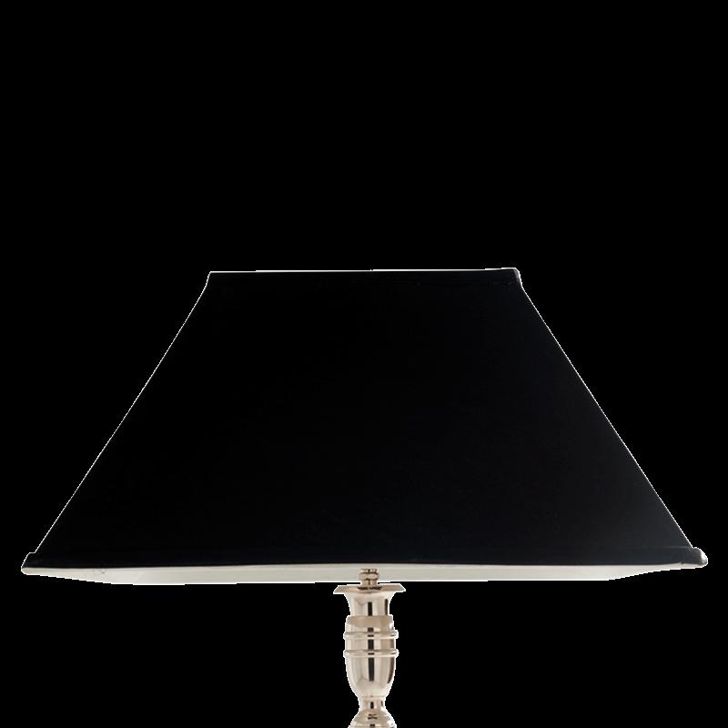 "Classic Lamp Shade in Black 18"""