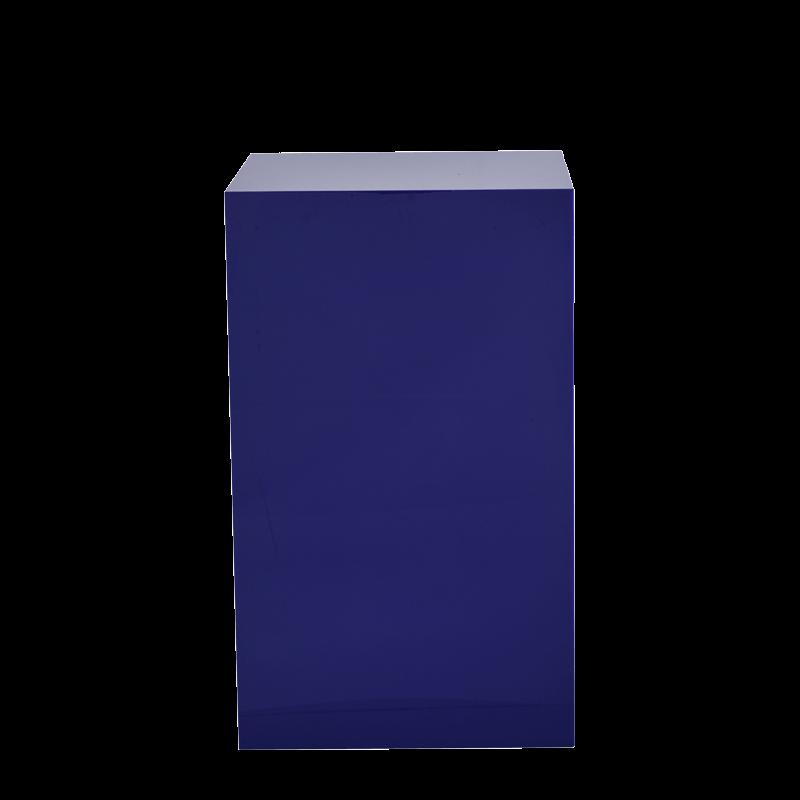 Seattle Plinth in Blue L 24