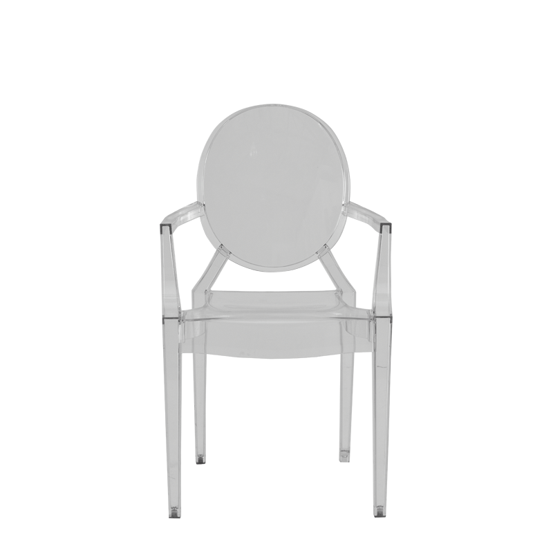 Louis Ghost Armchair in Clear