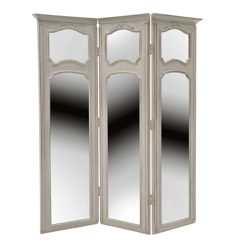 Paris Screen in French White