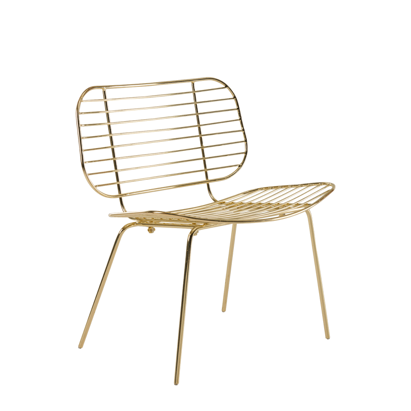Gianni Chair in Gold