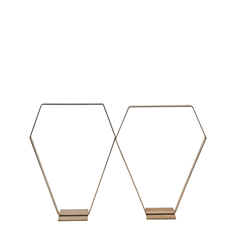 Mondrian Stanchion in Gold