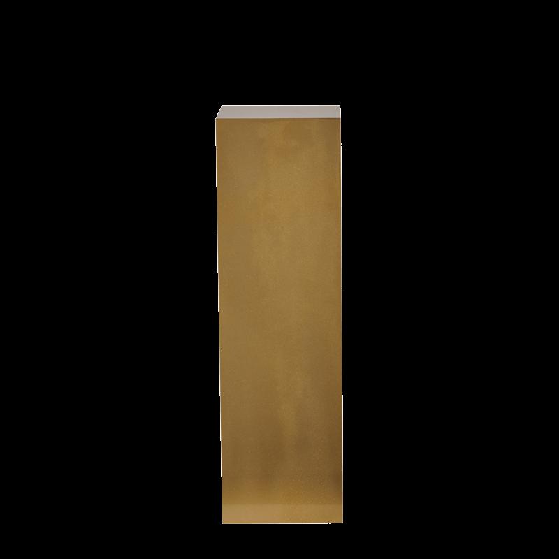 Seattle Plinth in Gold L 12