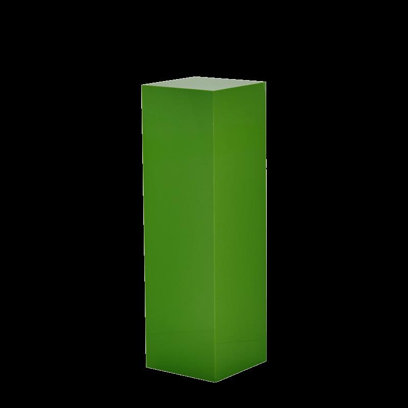 Seattle Plinth in Green L 12