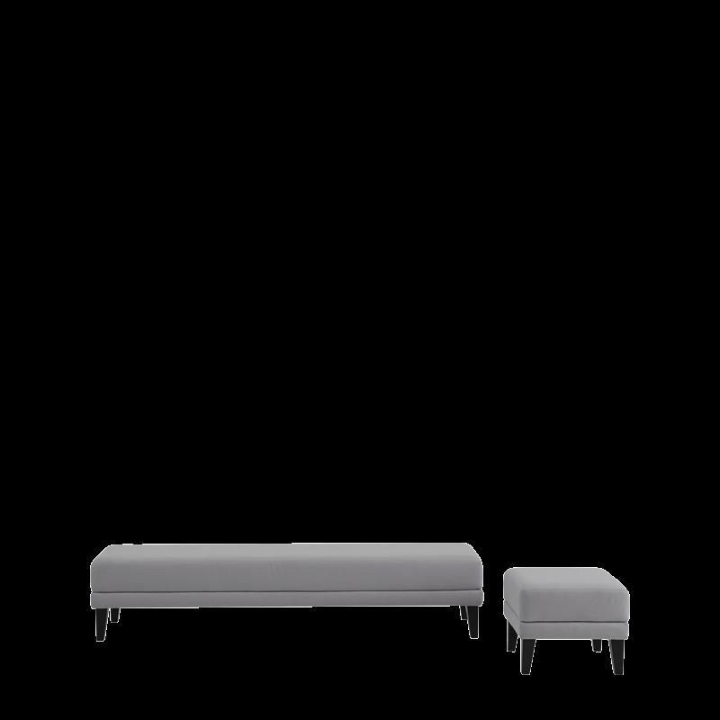 Sardinia Bench in Grey