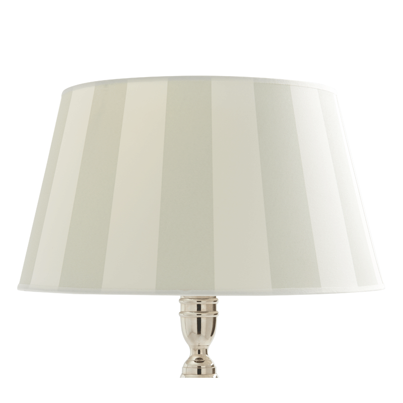 Stripes Lamp Shade in Grey/Ivory 16