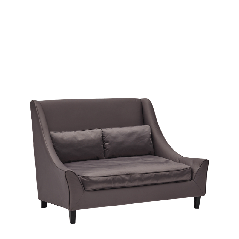 Verona Sofa Satin in Grey