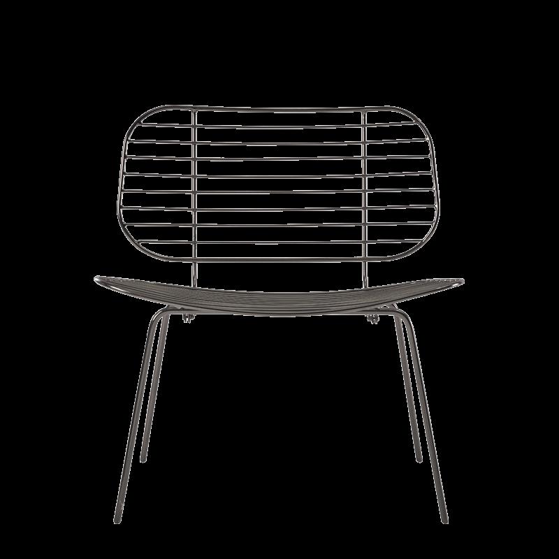 Gianni Chair in Gunmetal