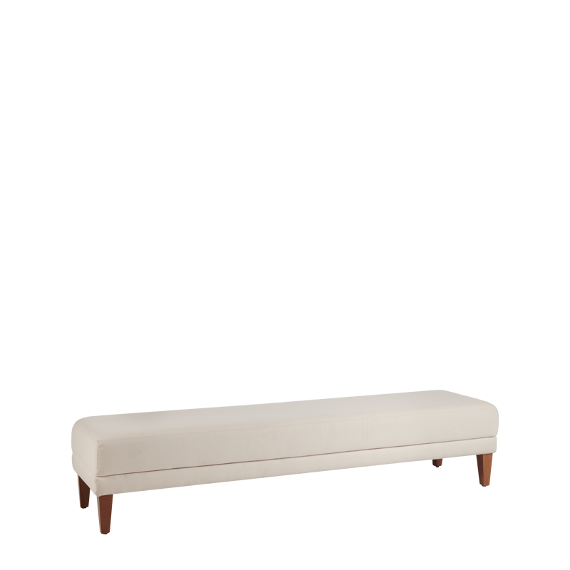 Sardinia Bench in Ivory