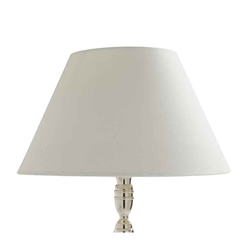 Empire Lamp Shade in Ivory 18""