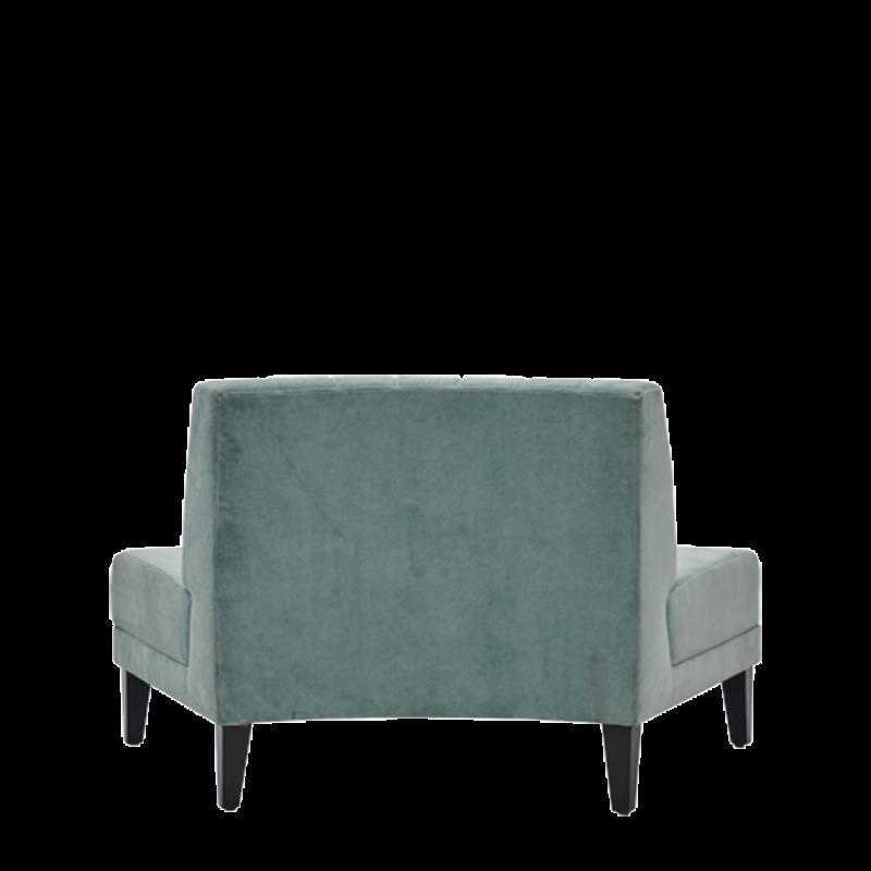 Infinito G Inverted Sofa in Seafoam Green
