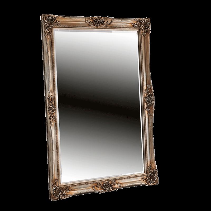 Versailles Mirror in Silver