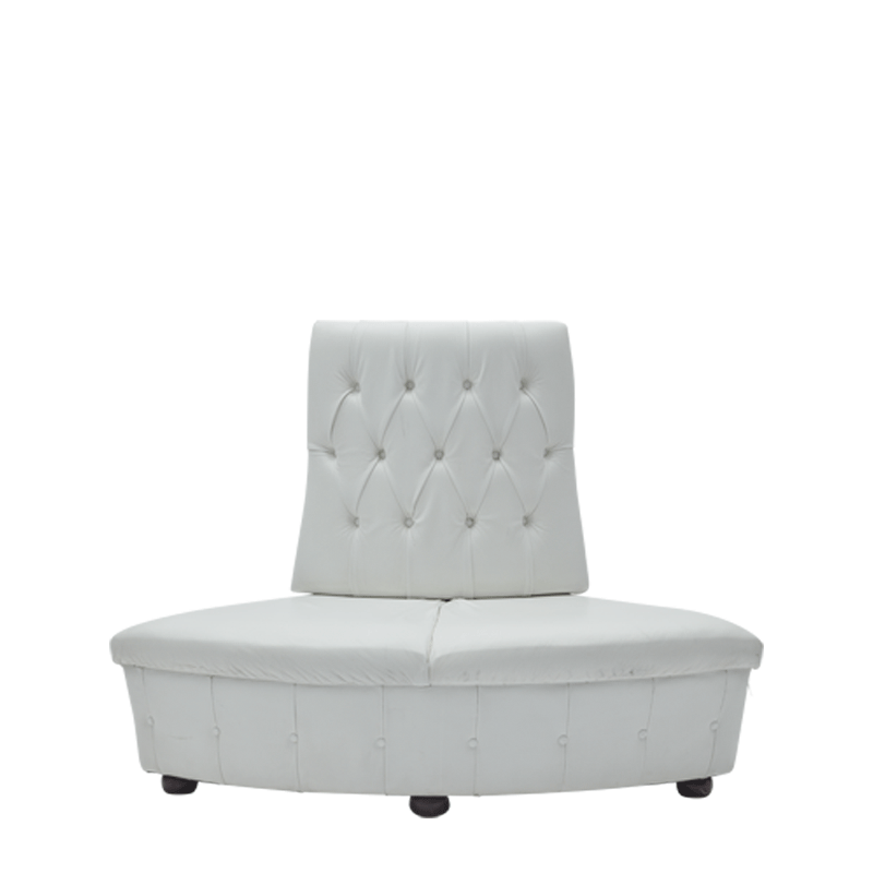 Fulcro Bourne Sofa in White