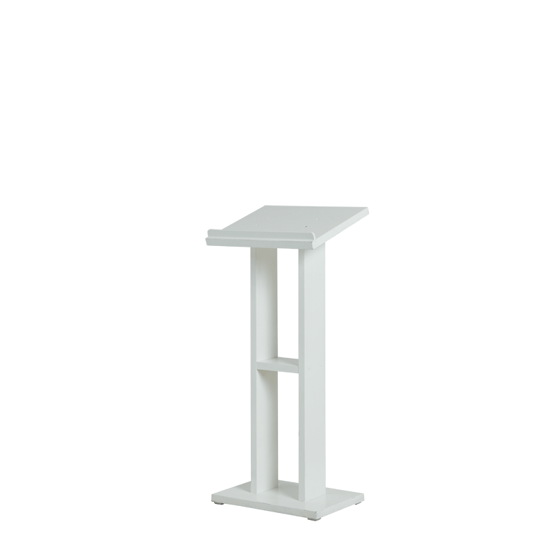 Seattle Lectern in White