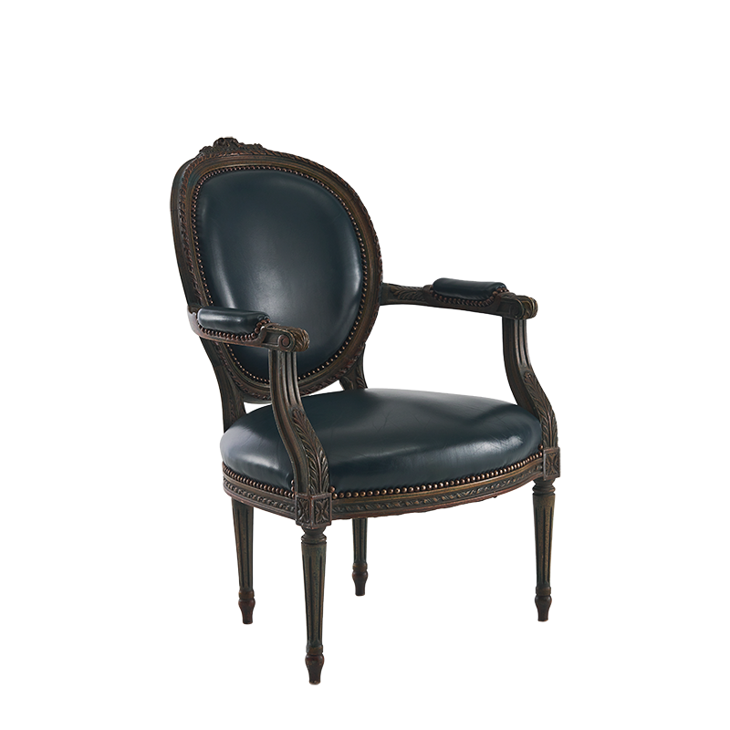 Azzurro Armchair in Jewel Green