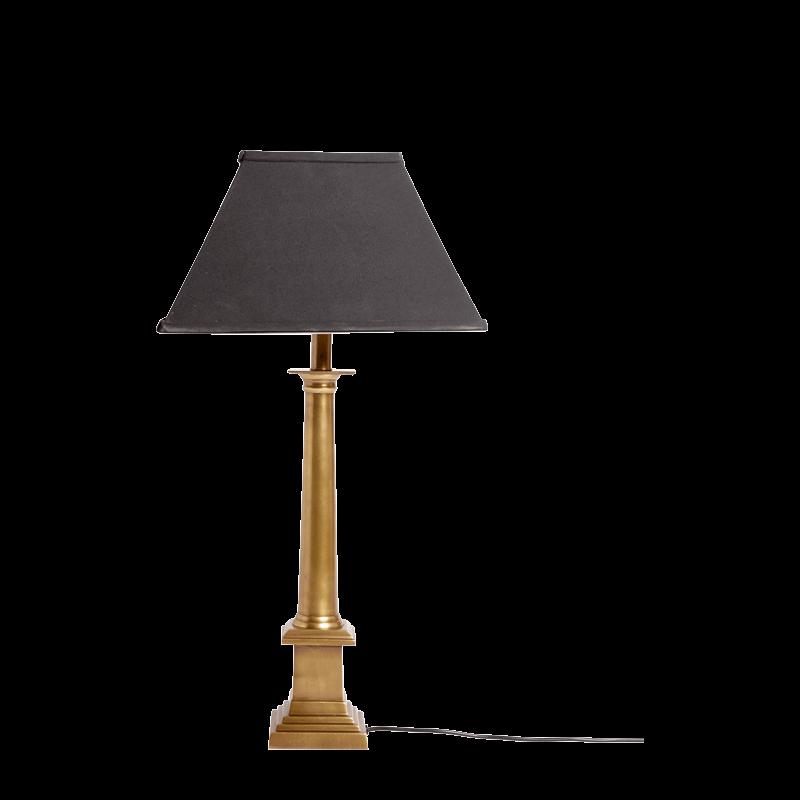 Brass Column Lamp