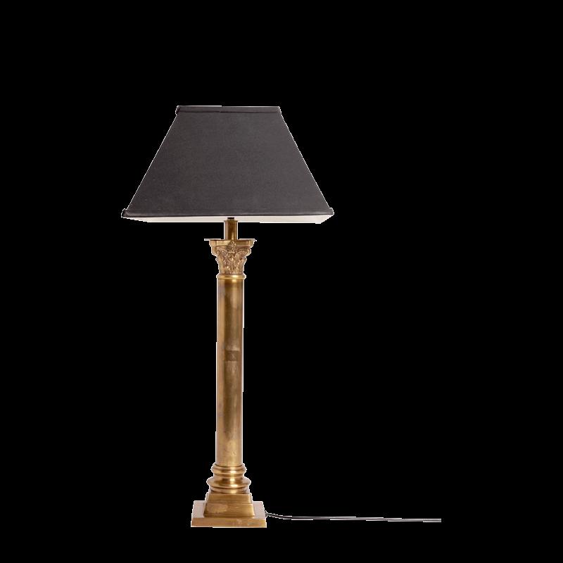 Brass Ornate Lamp