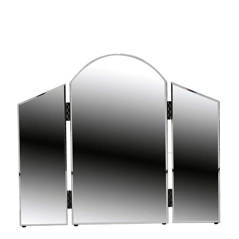 Curved Triple Fold Mirror