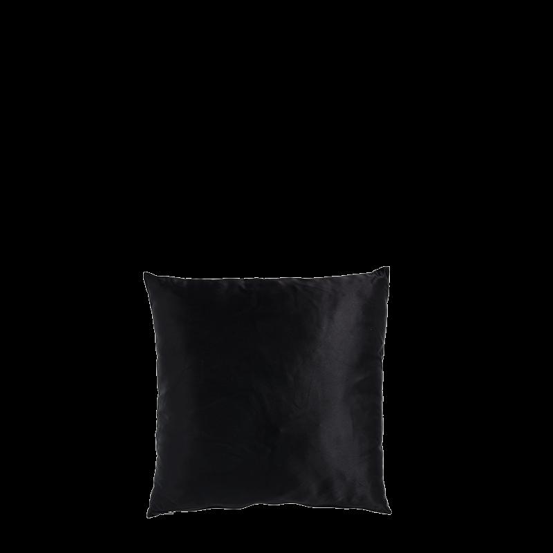 Black Satin Cushion