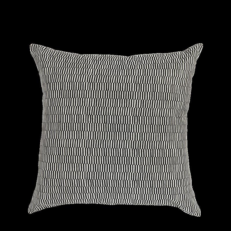 Cushion in Velvet with Geometric Design