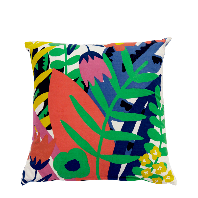 Cushion with Jungle Print