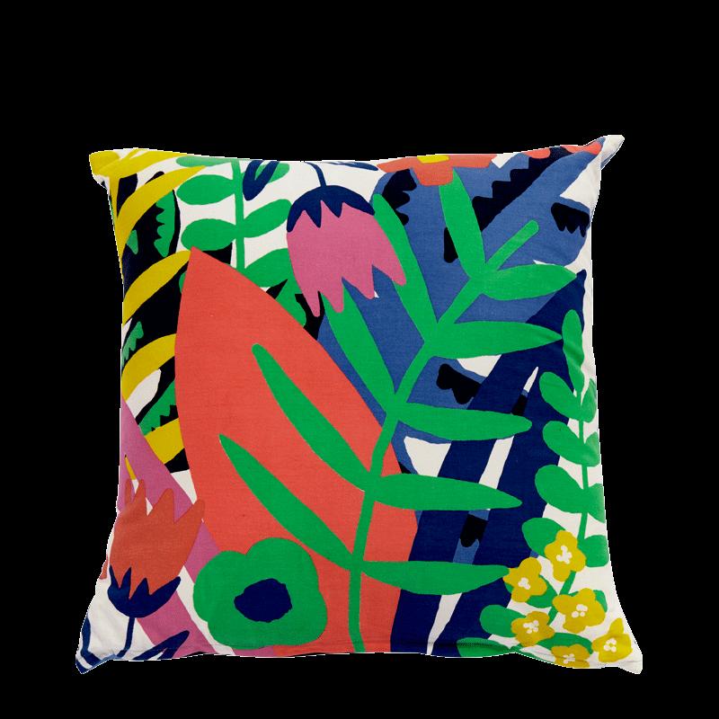 Cushion with Jungle Print